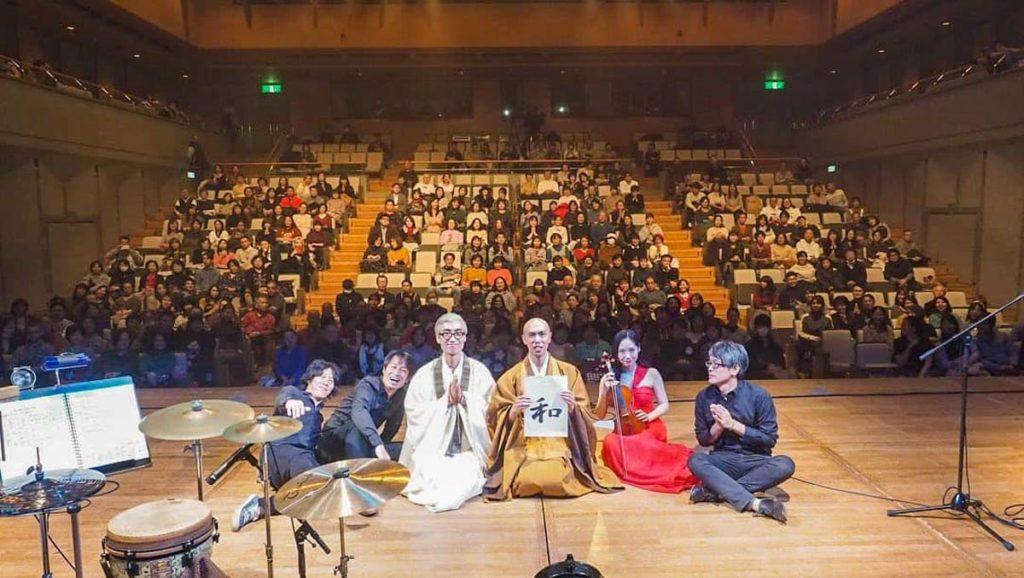 朝倉行宣師のステージ活動写真