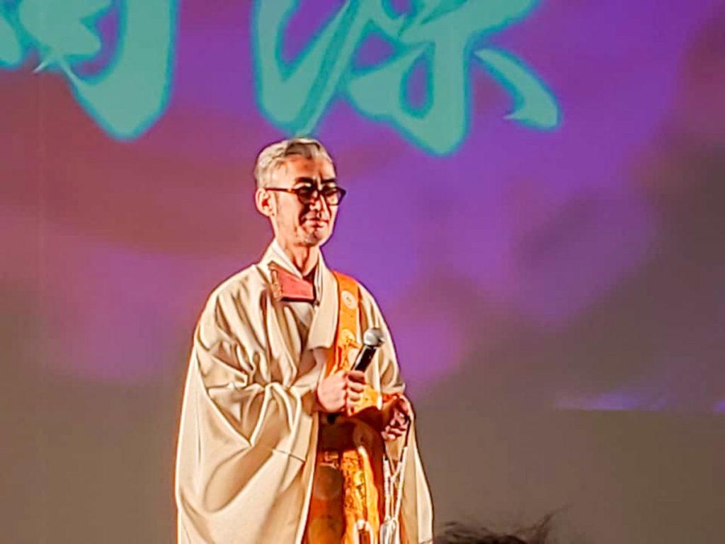 朝倉行宣師講演の写真
