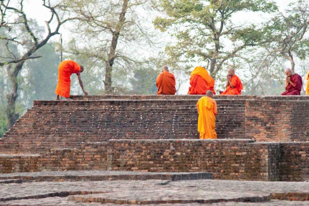 インドの僧侶